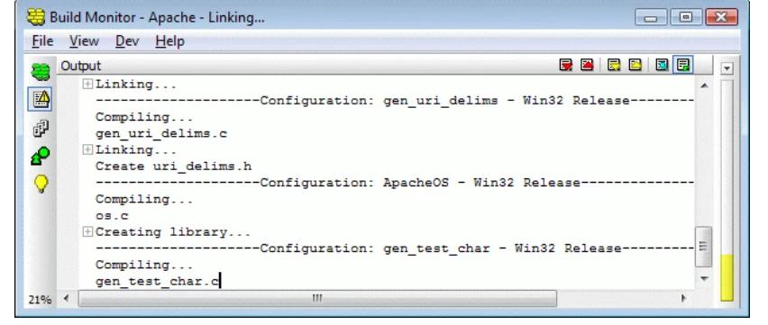 Incredibuild Software - Incredibuild output