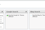Vonage Business Communications screenshot: Vonage Business supports Google search and Bing search plugins