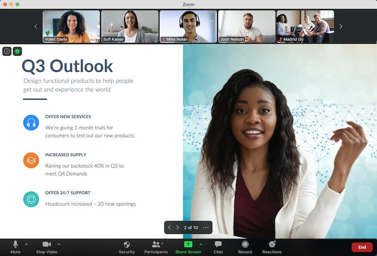 Zoom Meetings Software - 2