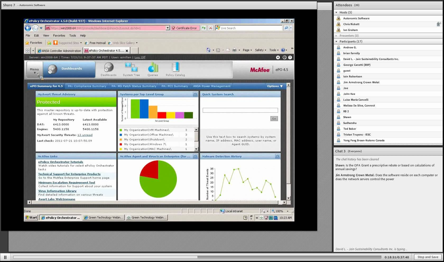 ANSA Patch Manager Software - Power management