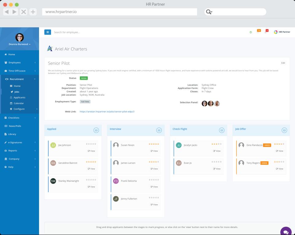 HR Partner Software - 3