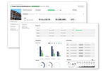 BuildOps screenshot: BuildOps Project Management: Deliver on schedule + within budget with full visibility into the critical KPIs (+ more): - Projected profit + profit to date - Margins - Budgeting, job costing + utilization amounts - Even the weather on location