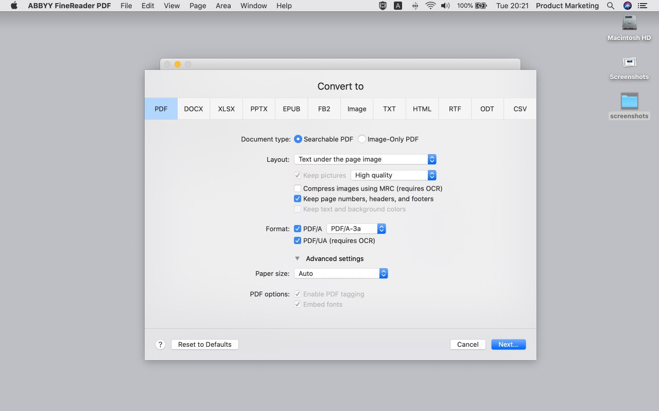 ABBYY FineReader PDF Logiciel - 5