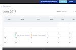 Get Connected Software - A community calendar provides volunteers and coordinators with an overview of events and needs