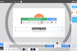 WIDEO screenshot: Choose a template and have a video ready to go in only 5 minutes