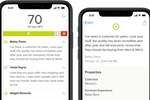 Delighted screenshot: The Delighted mobile app for iOS allows users to view current scores including NPS rating on iPhone and iPad devices, while providing live feedback updates when received
