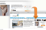 Criteo Dynamic Retargeting screenshot: An example of a targeted Criteo ad