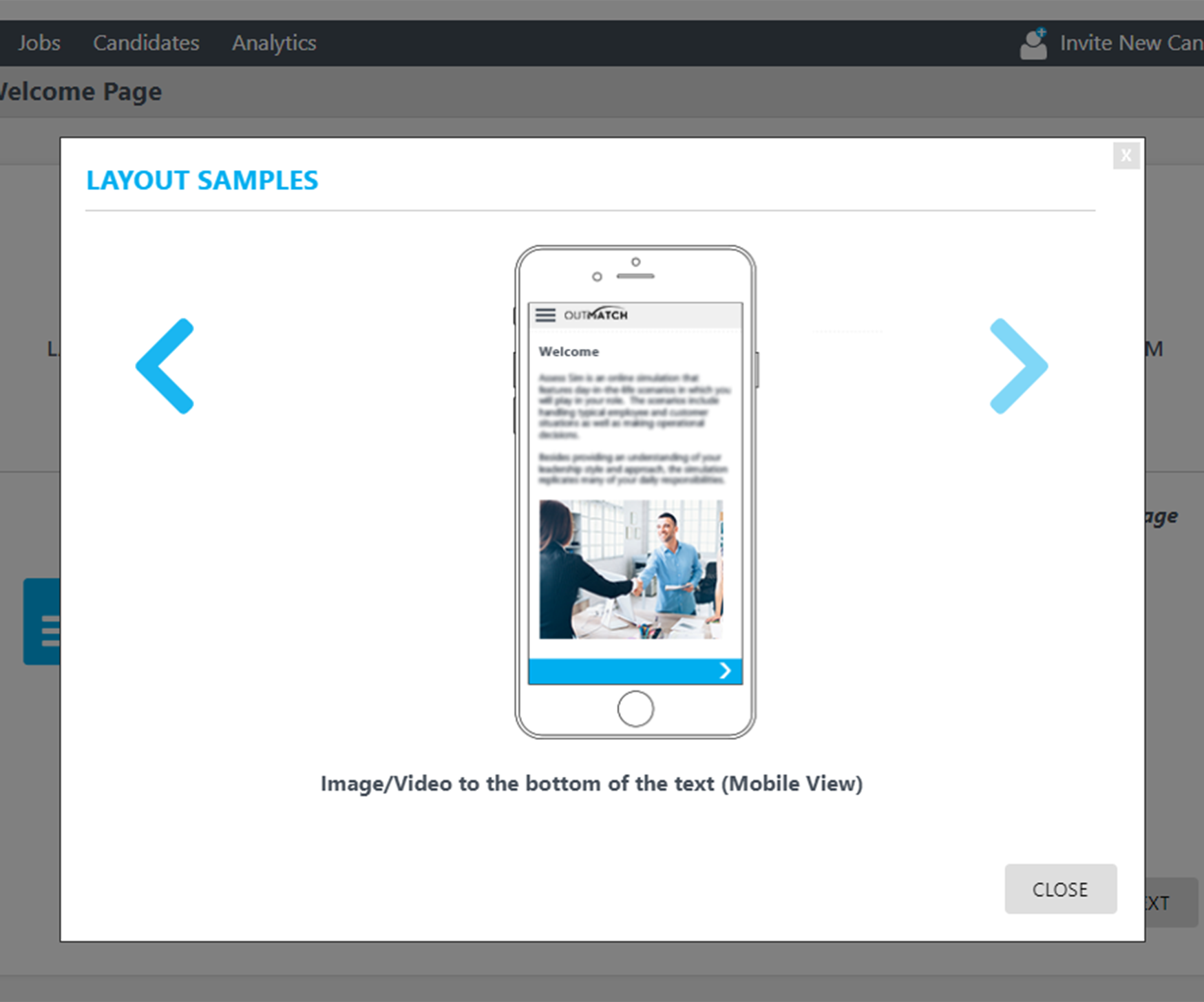 An optimized mobile experience for assessments aims to engage candidates and boost completion rates