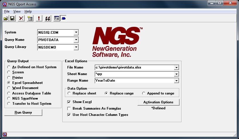 NGS-IQ access control