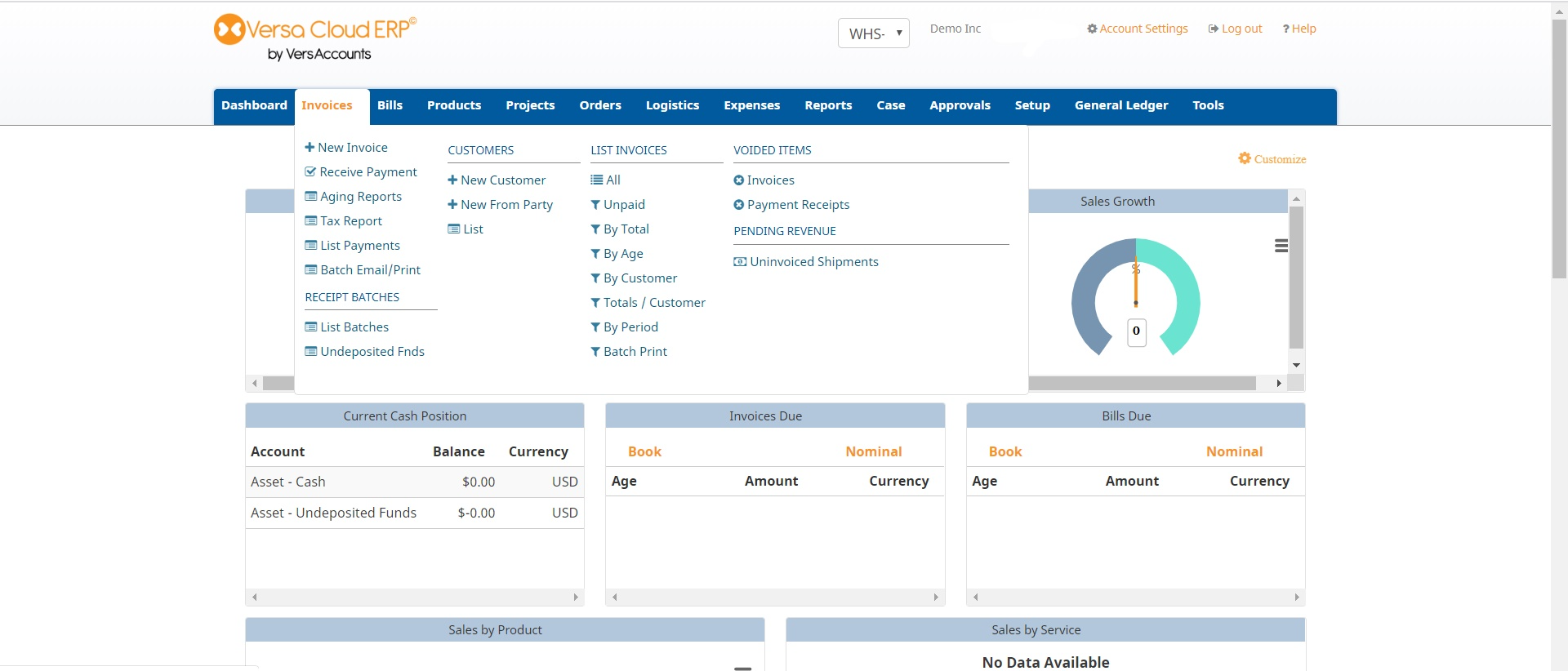 Versa Cloud ERP Software - 4