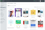 Captura de tela do Klaviyo: Klaviyo Template Library—Browse our pre-built email templates to easily launch new campaigns