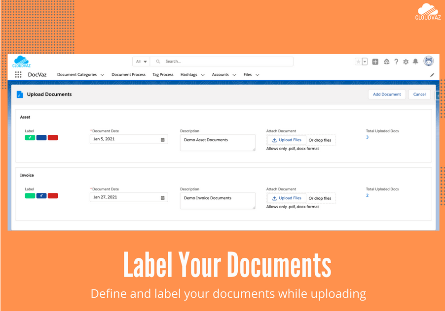 Label your documents
