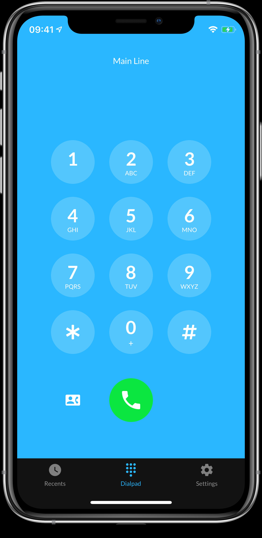 Yodel iOS screenshot