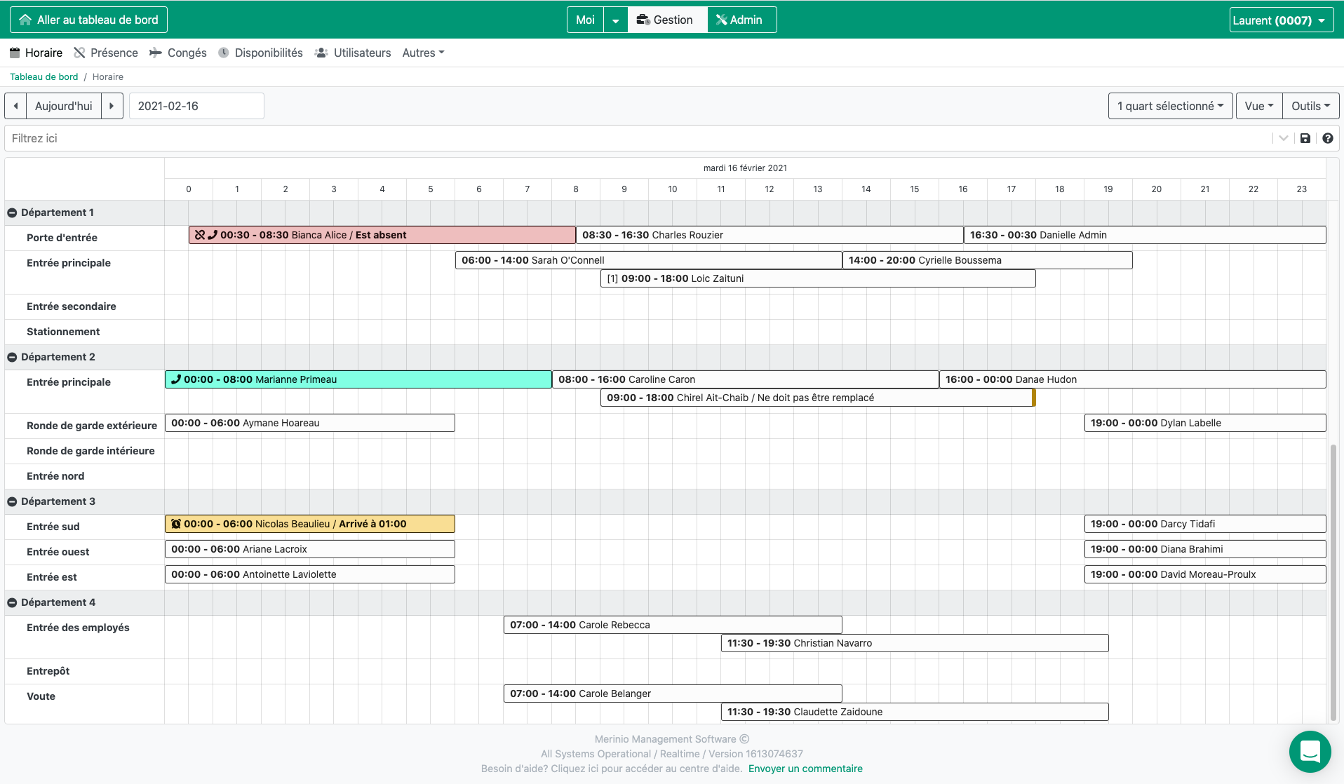 Merinio Software - Simplify your schedule creation: Facilitate the delicate task of schedule management with software that will take into account all of your company's specific constraints and offer you a maximum of automation options.