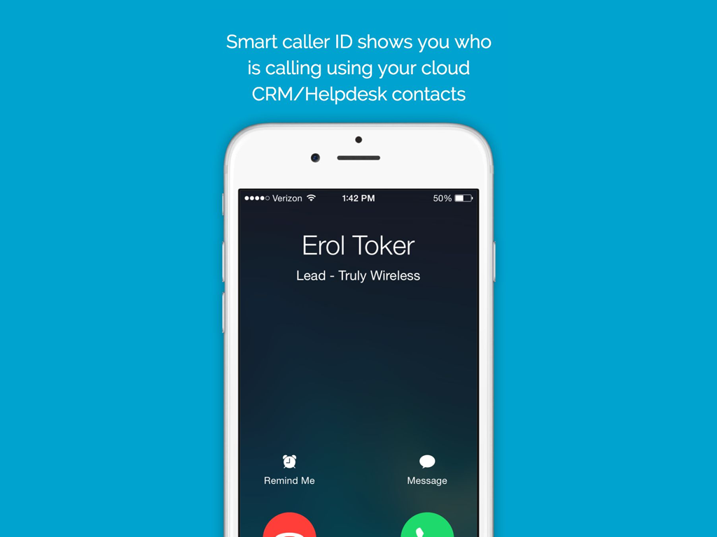 Truly Wireless smart caller ID