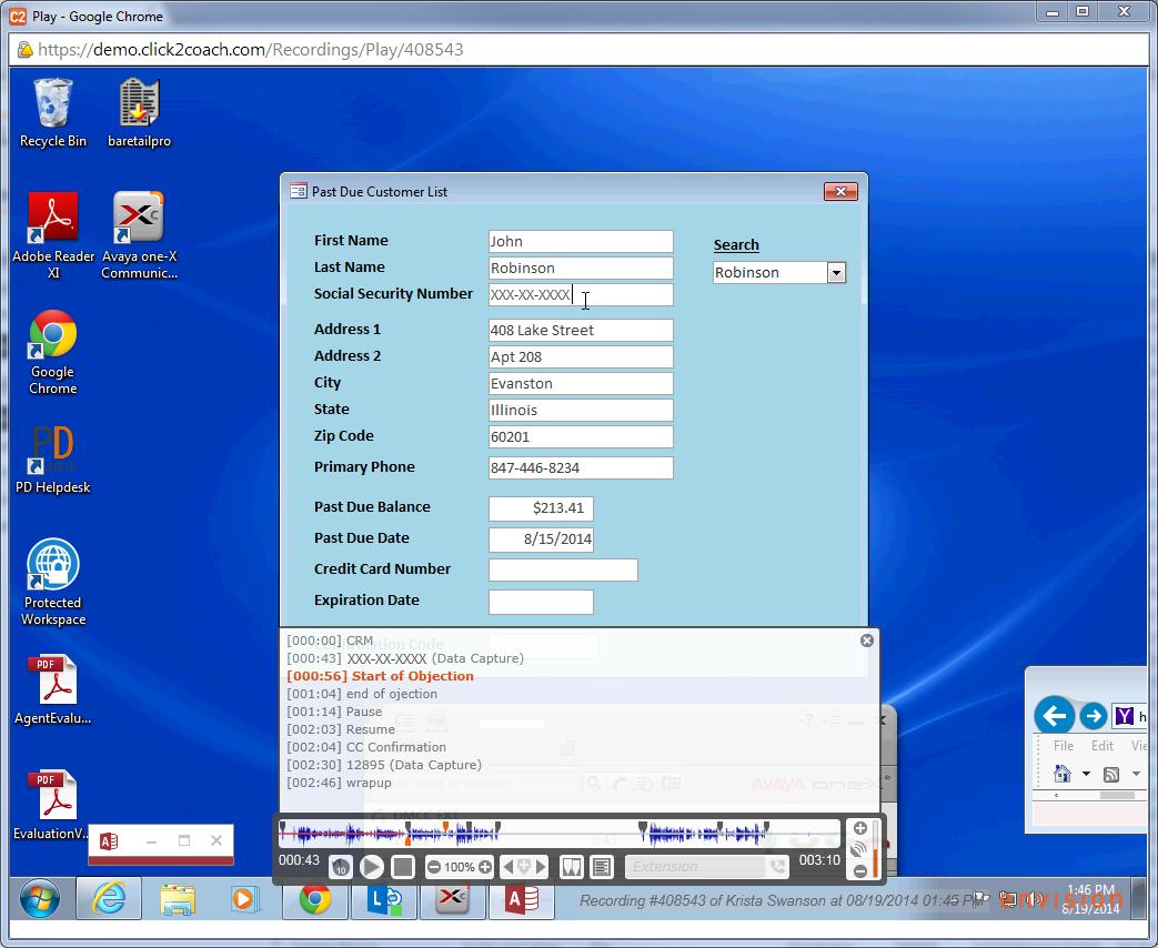 Click2Coach Software - Click2Coach AV player