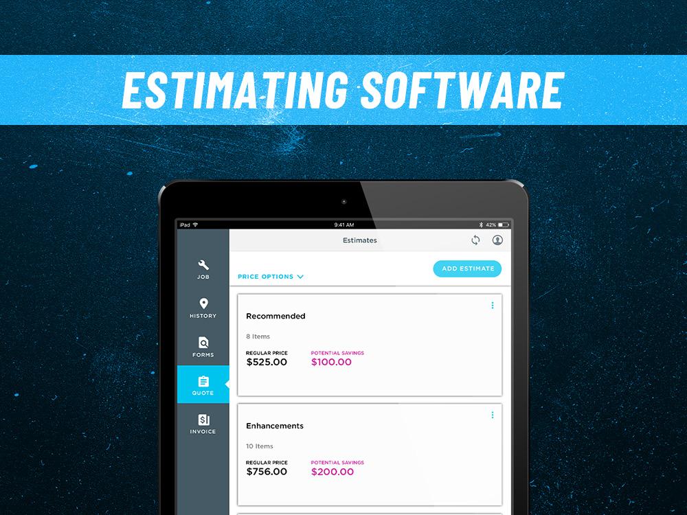 ServiceTitan estimating