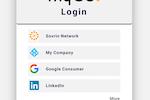 Capture d'écran pour IdRamp : IdRamp application authentication