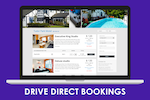 ConvertDirect Booking Engine Screenshot: Accept direct bookings through ConvertDirect Booking Engine