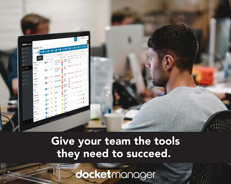 DocketManager Give your team the tool they need to succeed.