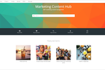 Content Hub screenshot: Manage marketing content in Sitecore Content Hub