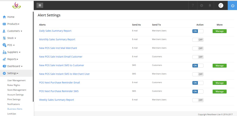 Retailbean Lite Software - Customer engagement