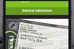 HoldMyTicket screenshot: HoldMyTicket ticket barcode scanning