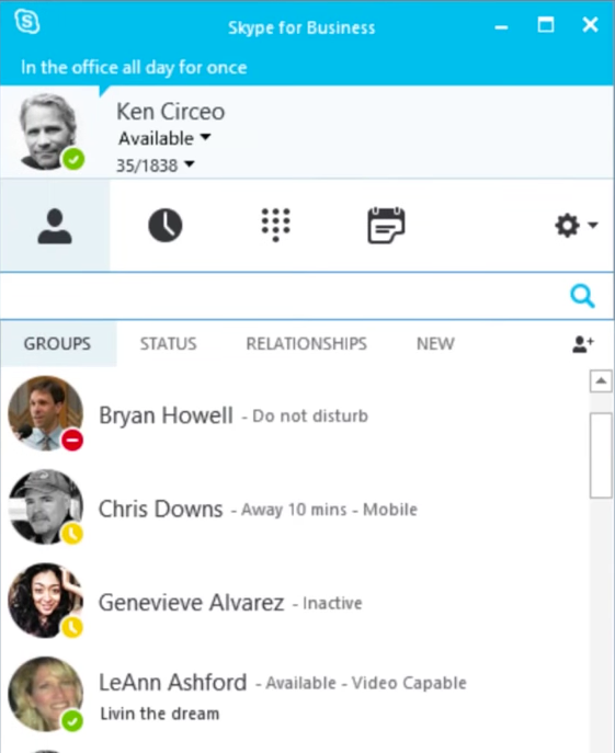 Skype for Business is included in Office 365 subscriptions