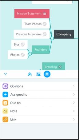 iOS interface