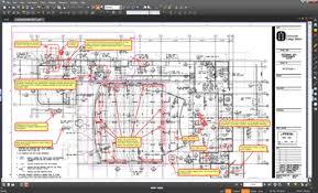 Bluebeam Revu screenshot: Bluebeam Revu handles complex PDF operations