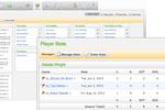 TeamSnap screenshot: Users can view individual players' statistics on TeamSnap