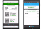 Captura de pantalla de Eventsquid: Digital tickets can be generated for online sale or at the event itself, bundling scanning capabilities into the mobile app and support for swiping credit cards for processing new admission transactions