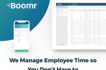 Captura de tela do Boomr Mobile: Track employee work hours in real-time across desktop and mobile devices