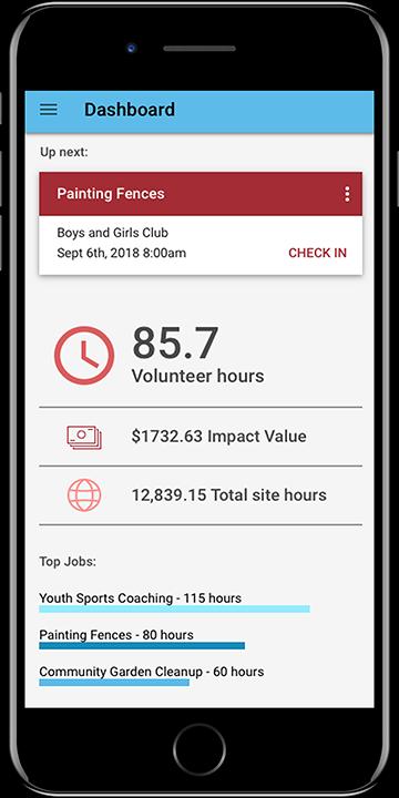 Get Connected Volunteer Tracking