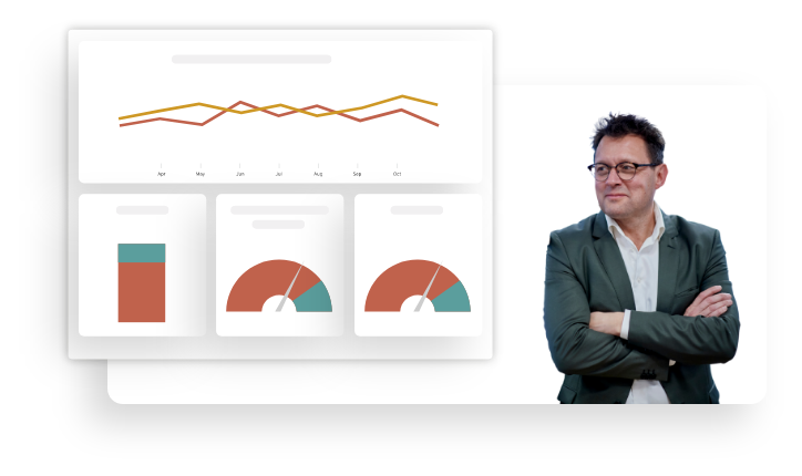 TimeLog Software - Deep reporting - keep track of your consultants, projects and customers