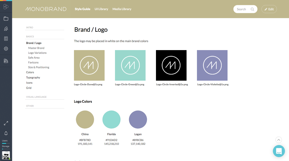 Style Guide – Build living brand guidelines in minutes