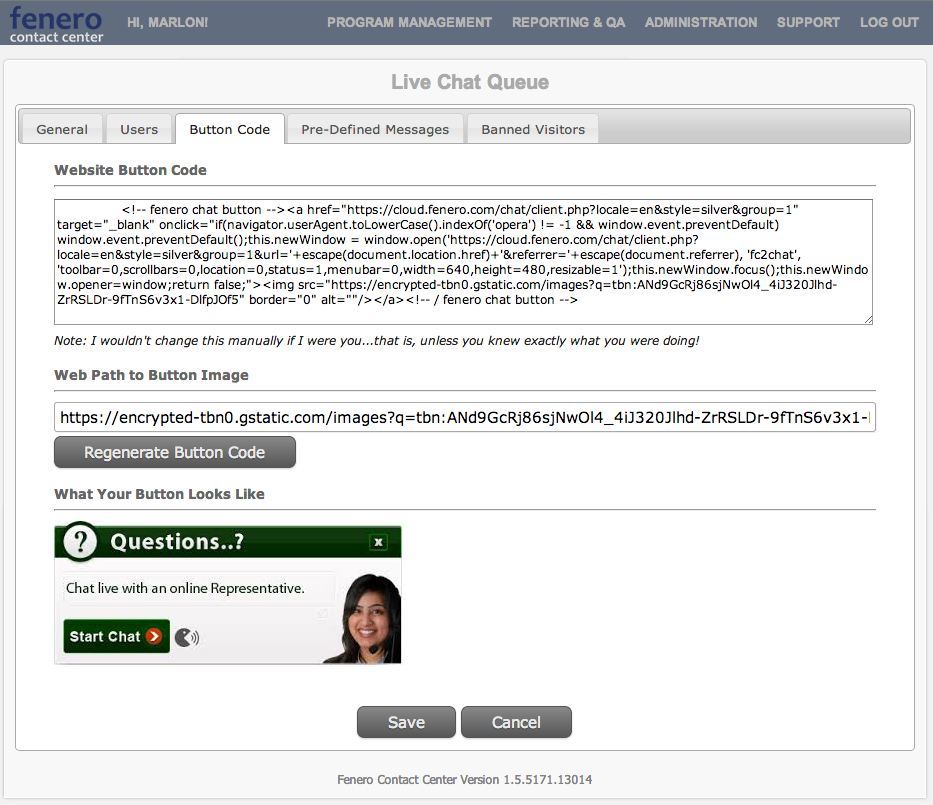 Qubicles Software - Live chat