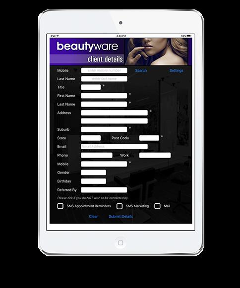 Hairware Software - Tablet compatible