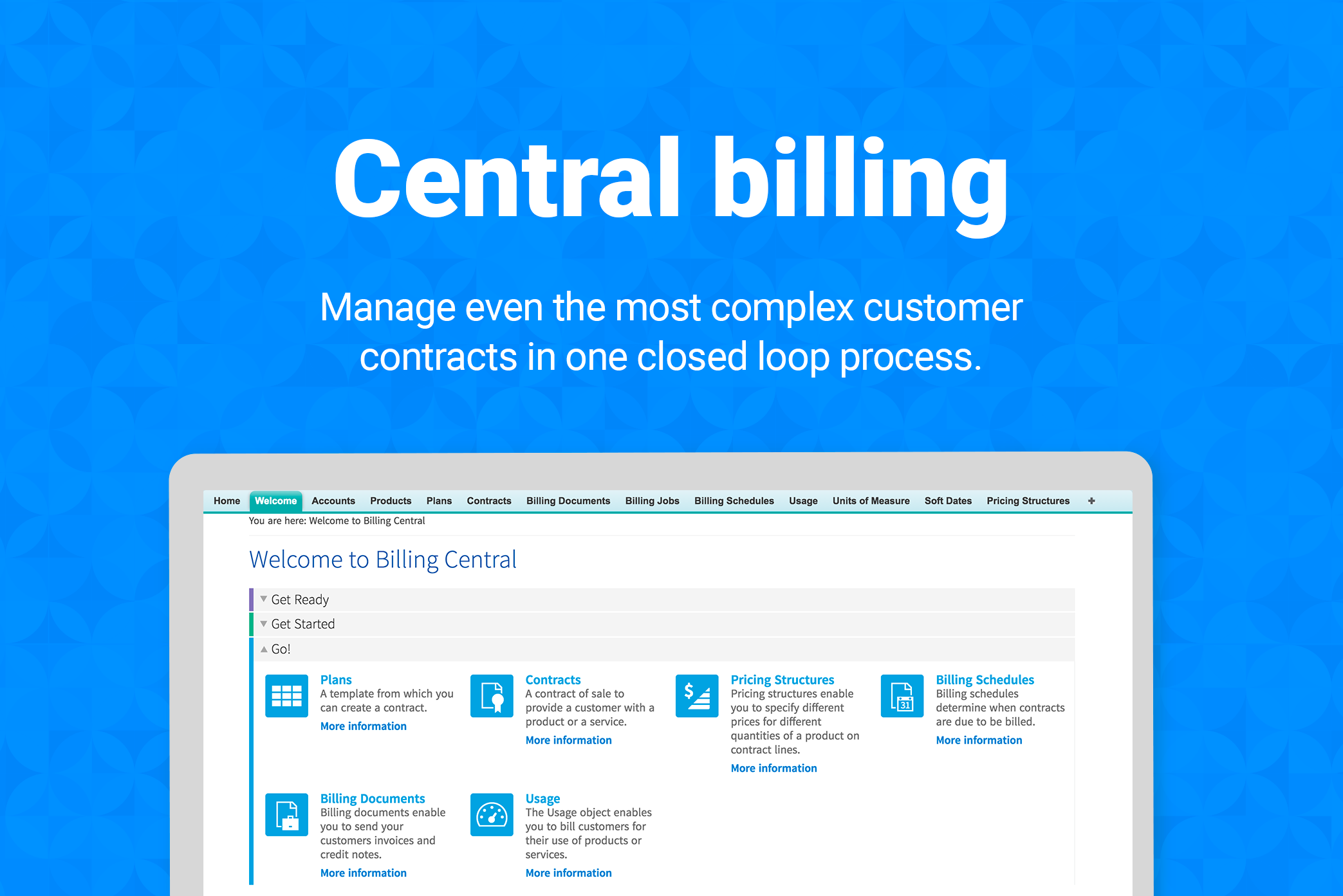 Manage all billing in one place