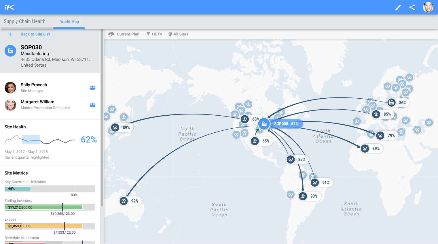 RapidResponse Software - Geo mapping