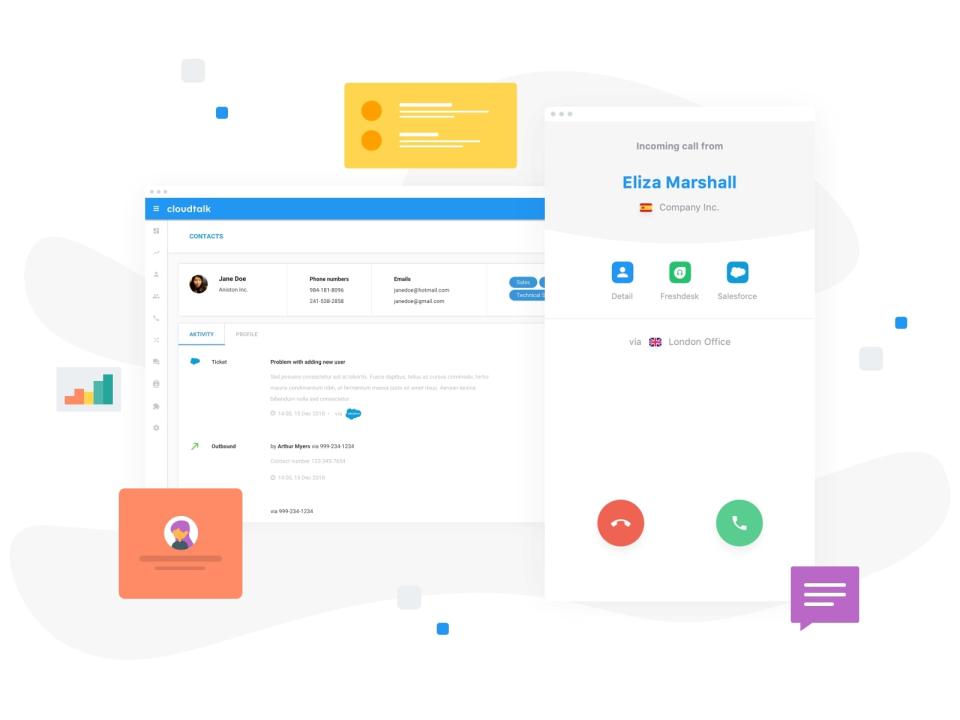 CloudTalk Software - CloudTalk contacts