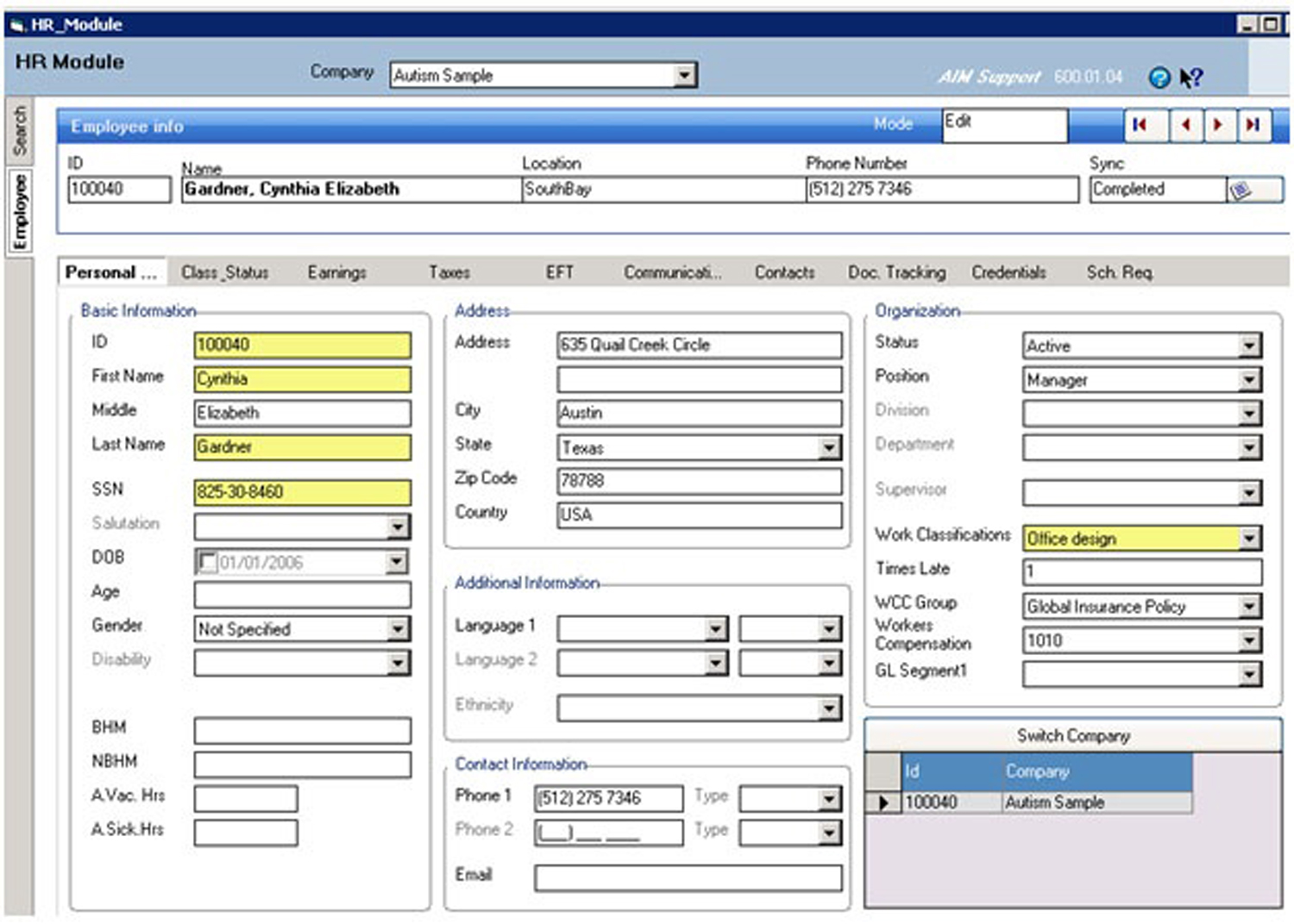TherapistMate Software - Payroll