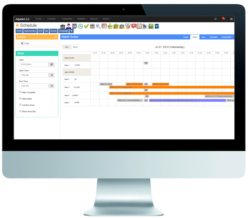 Plan, schedule, manage teams and assets to lead every project to completion