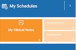 CareVoyant screenshot: CV Mobile Home Page