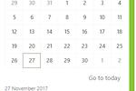 Thread Legal screenshot: Thread Legal calendar