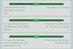 Cloverleaf screenshot: Cloverleaf supports a range of assessment types