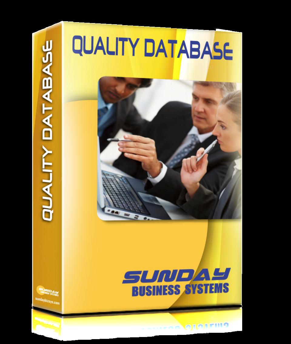 SBS Quality Database Logiciel - 1