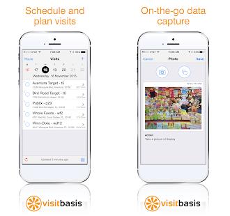 VisitBasis Software - PLanning Visits and data capture
