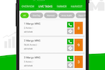 SmartFarm screenshot: Tasks can be managed digitally and tracked in real time