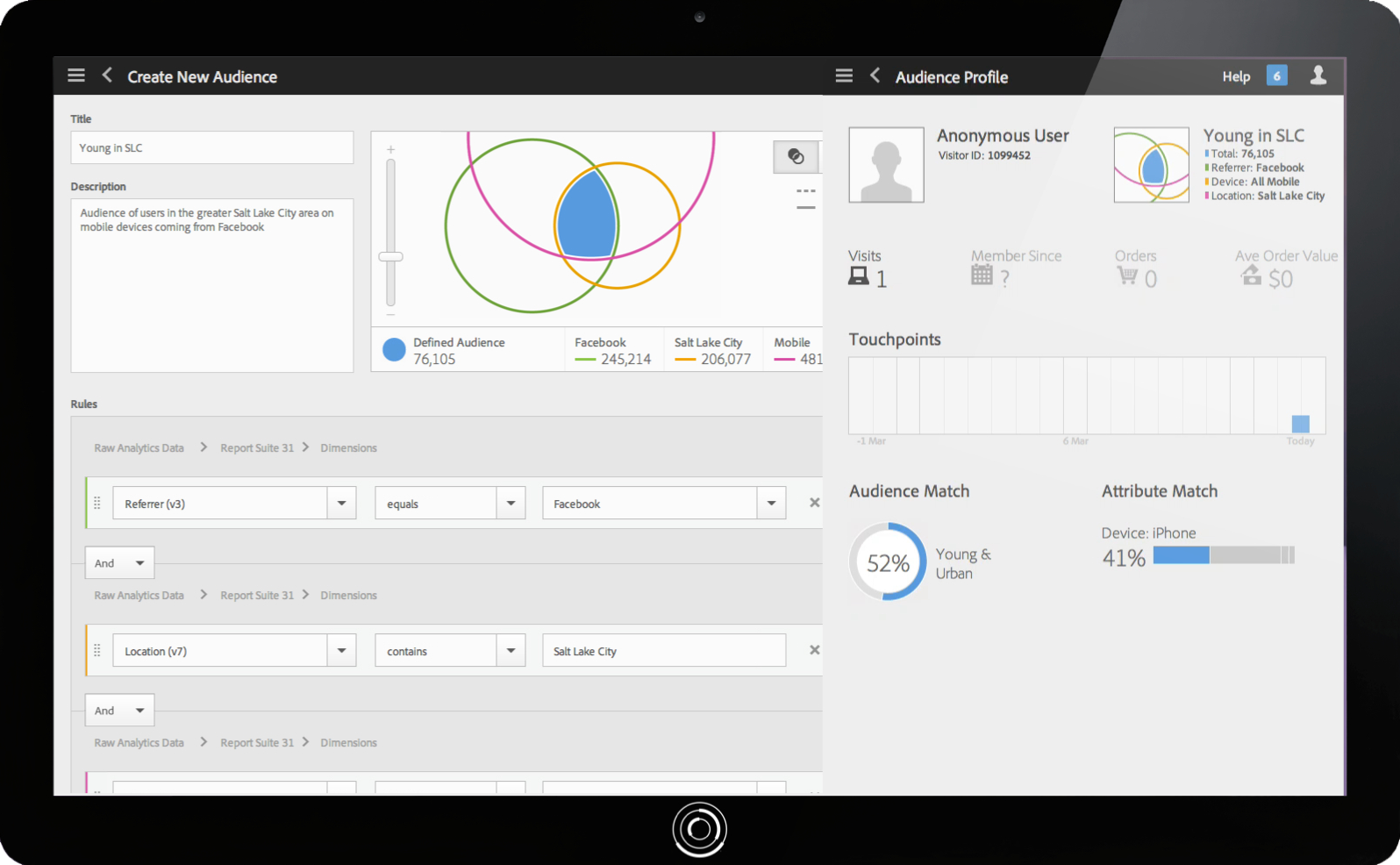 Adobe Marketing Cloud - Analytics - Tablet